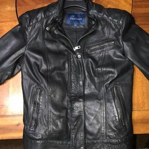 Small leather coat